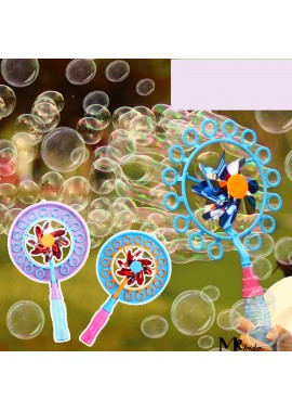Windmill Bubble Machine Children Toys Suitable For Wedding Party 23*40*4.5CM