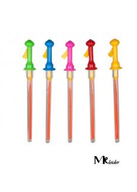 20PCS Colorful Bubble Sticks 46CM