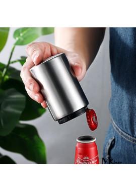2PCS Stainless Steel Semi-Automatic Bottle Wine Opener 8.3*4.3CM