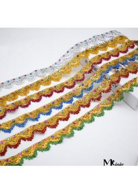 Decorative Sequin Dress Accessories