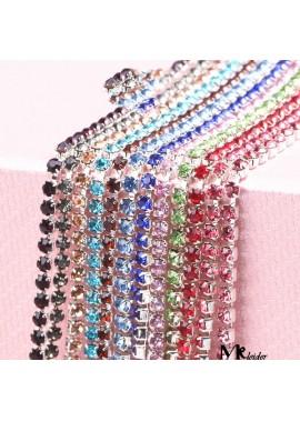 10pcs Rhinestone Chain Decorative Diamond