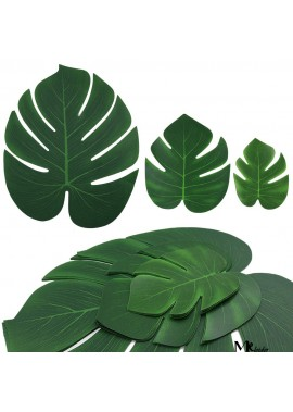 60pcs Flower Arrangement Accessories Palm Leaves 6 Inchs