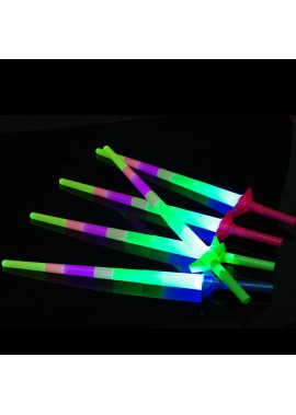 5pcs Luminous Telescopic Light Stick Light Stick
