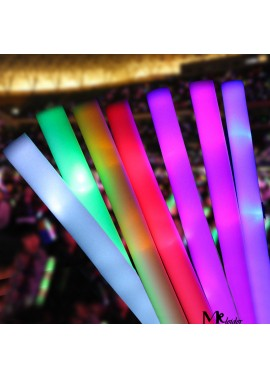 10PCS Colorful Sponge Fluorescent Stick Foam Stick