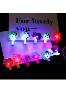 2PCS Led Electronic Light Emitting Card 3.2*1.5CM
