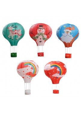 10PCS Paper Lantern Wedding Decoration Random Color 12Inch