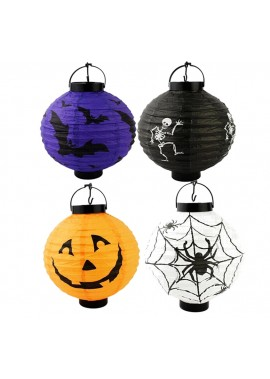 5PCS Halloween Decoration Halloween Pumpkin Lantern 20CM