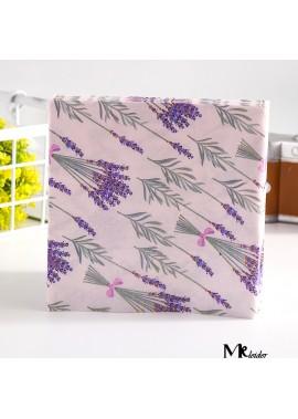 3 Sets Of  60PCS Lavender Printed Napkins And Facial Tissues 33*33CM
