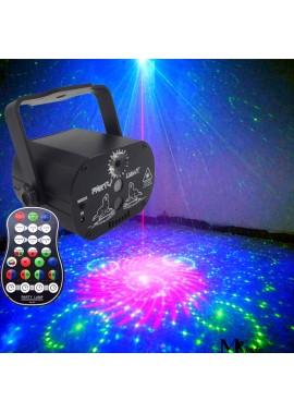 Mini Laser Light 60 Pattern USB Starry Sky Top