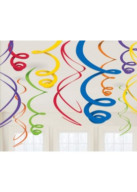 10 Sets Of Spiral Ornaments Festive Party Decoration Wedding Party Smallpox Aerial Scene Decoration Balloons