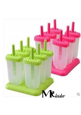 5PCS Creative Plastic Ice Tray Popsicle Model 14*15*17CM