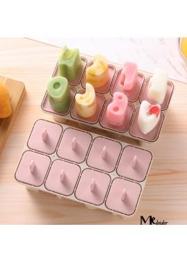 5PCS Household Ice Box Frozen Popsicle Mould 18.5*10.6*7CM