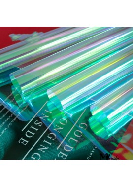 Color Transparent Gift Wrapping Paper