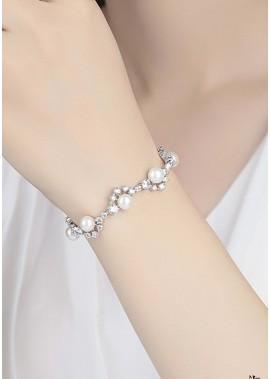 Perlen Strass Armbänder T901556329507