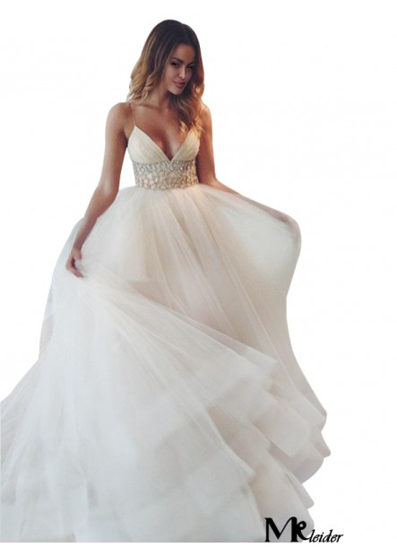 MKleider 2020 Beach Wedding Ball Gowns T801524714820
