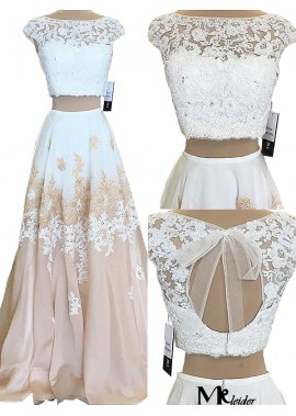 MKleider Two Piece Long Prom Evening Dress T801524703811