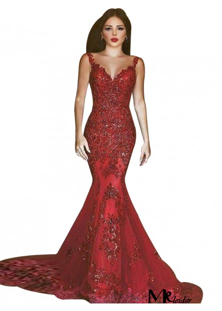 MKleider Mermaid Long Prom Evening Dress T801524703825