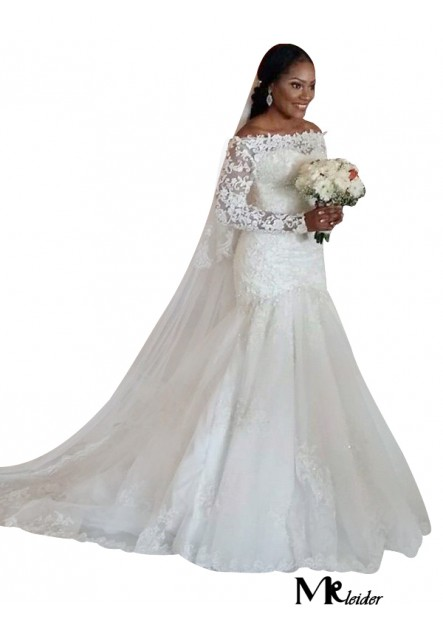 MKleider 2020 Plus Size Wedding Dress T801524714663