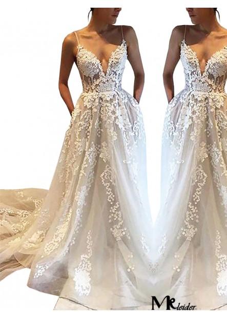 MKleider 2020 Beach Wedding Dresses T801524714695