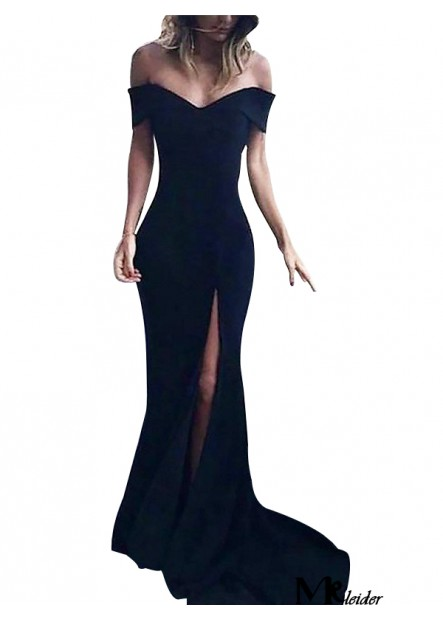 Black Long Prom Evening Dress T801524703580