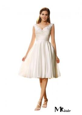 MKleider 2020 Beach Short Wedding Dresses T801524715107