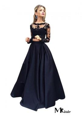 MKleider Lace Black Long Prom Evening Dress T801524703566