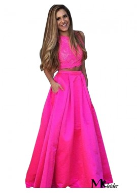 MKleider Two Piece Long Prom Evening Dress T801524705366