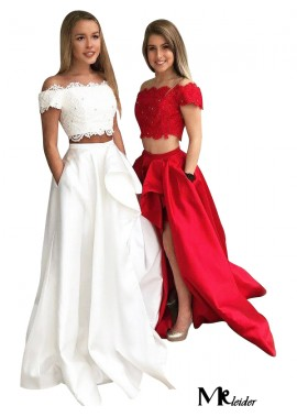 MKleider Two Piece Long Prom Evening Dress T801524703851