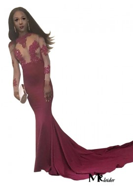 MKleider Mermaid Long Prom Evening Dress T801524705142