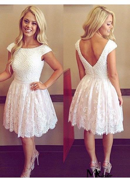 MKleider Short Homecoming Prom Evening Dress T801524710272