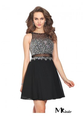 MKleider Black 2 Piece Prom Dress T801524705130