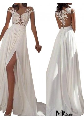 MKleider Sexy 2020 White Summer Beach Beach Long Wedding  / Evening Dresses T801524703573