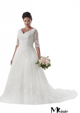 MKleider Plus Size Wedding Dress T801525331194