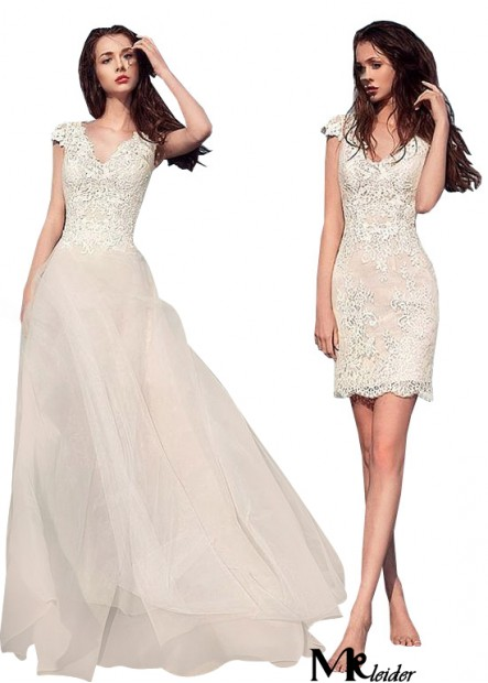 MKleider Beach Short Wedding Dresses T801525317586