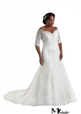 MKleider Plus Size Wedding Dress T801525325539