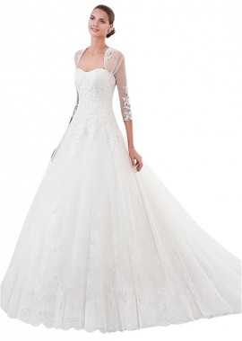 MKleider Lace Wedding Dress T801525384764