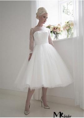MKleider Short Wedding Dress T801525383613