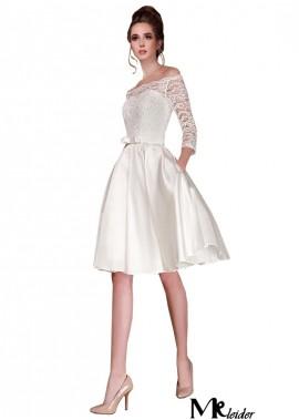 MKleider 2020 Discount Beach Short Wedding Dresses T801525312994