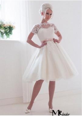 MKleider Short Wedding Dress T801525386415