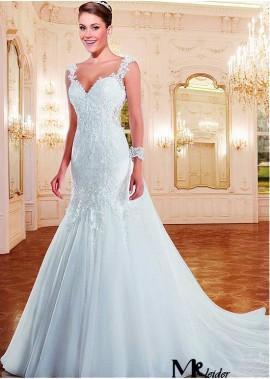 MKleider Lace Wedding Dress T801525387552