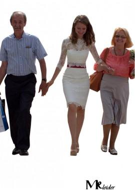 MKleider Short Wedding Dress T801525318078