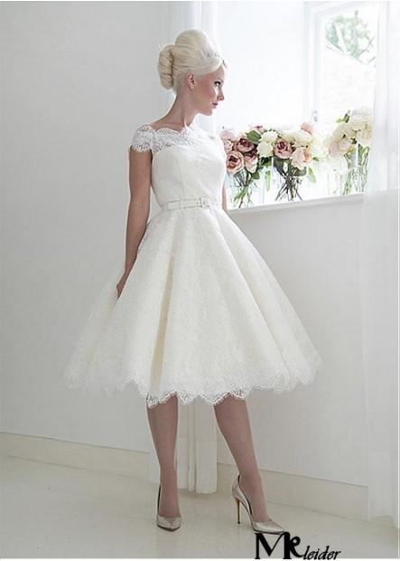 MKleider Short Lace Wedding Dress T801525388007