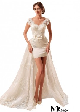 MKleider Short Wedding Dress T801525384298