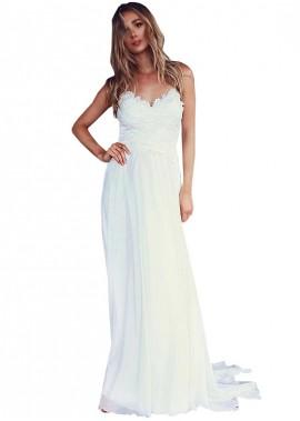 MKleider Beach Wedding Dresses T801525317646
