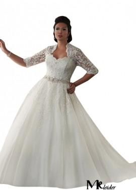 MKleider Plus Size Wedding Dress T801525325885