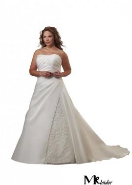MKleider Plus Size Wedding Dress T801525329225