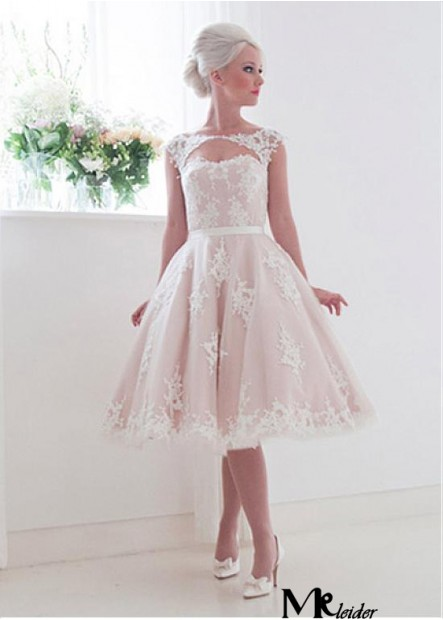 MKleider Short Lace Wedding Dress T801525388010