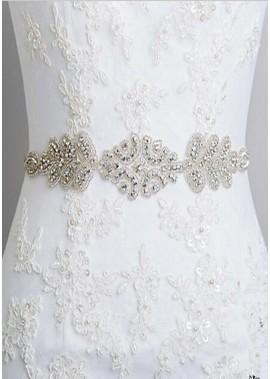 Diamant Band Doppelzweckbraut Hochzeits Schärpen T901555996636