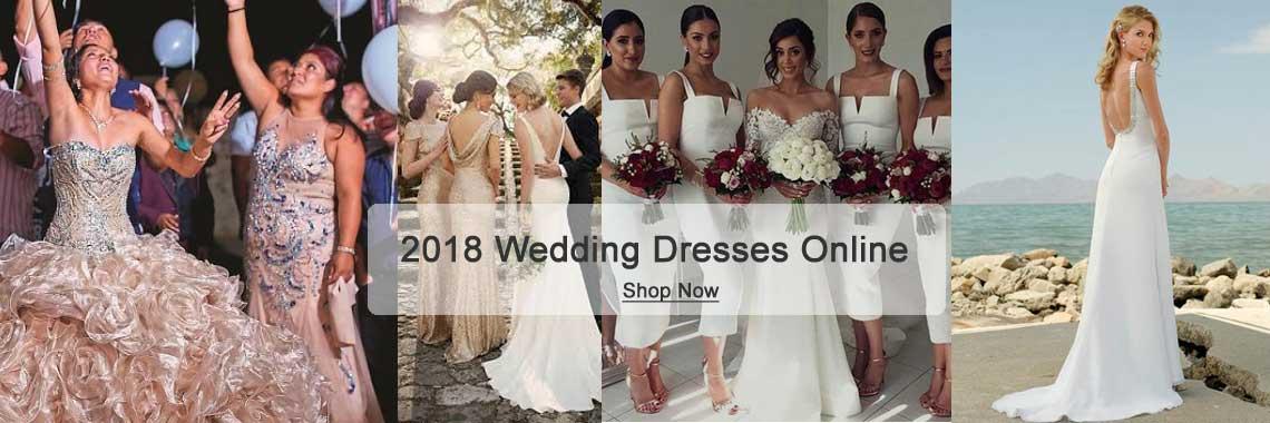 2018 Wedding Dresses Online